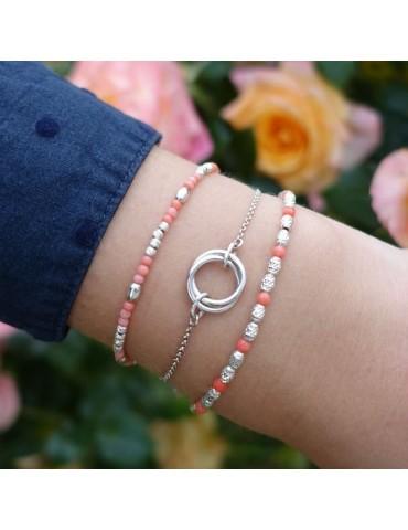 Bracelet Bambou de mer et Argent 925 - Eloa Aloe Bijoux
