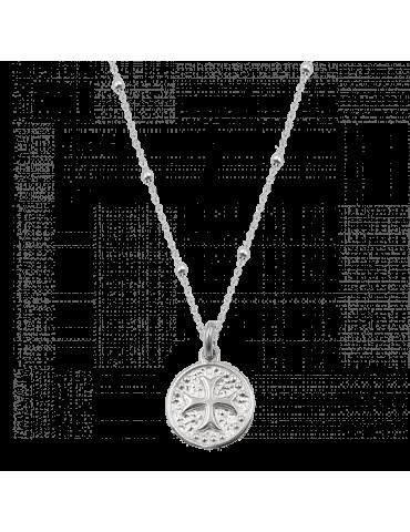 Collier avec médaille Celte en Argent 925