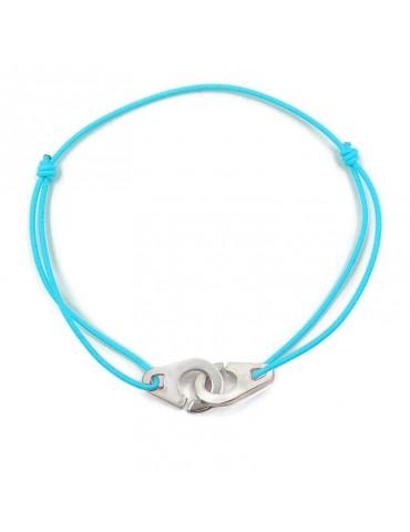 """Bracelet Cordon""""attrape-moi"""" en Argent 925"""