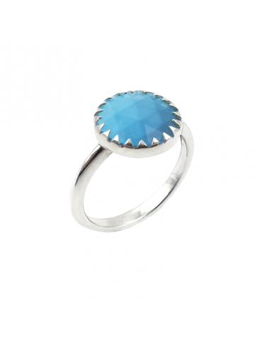 Bague Turquoise en Argent 925 - Juliette