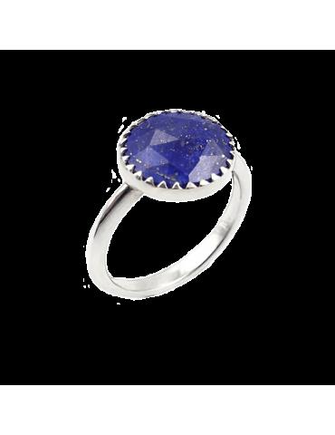 Bague Lapis lazuli en Argent 925 - Juliette