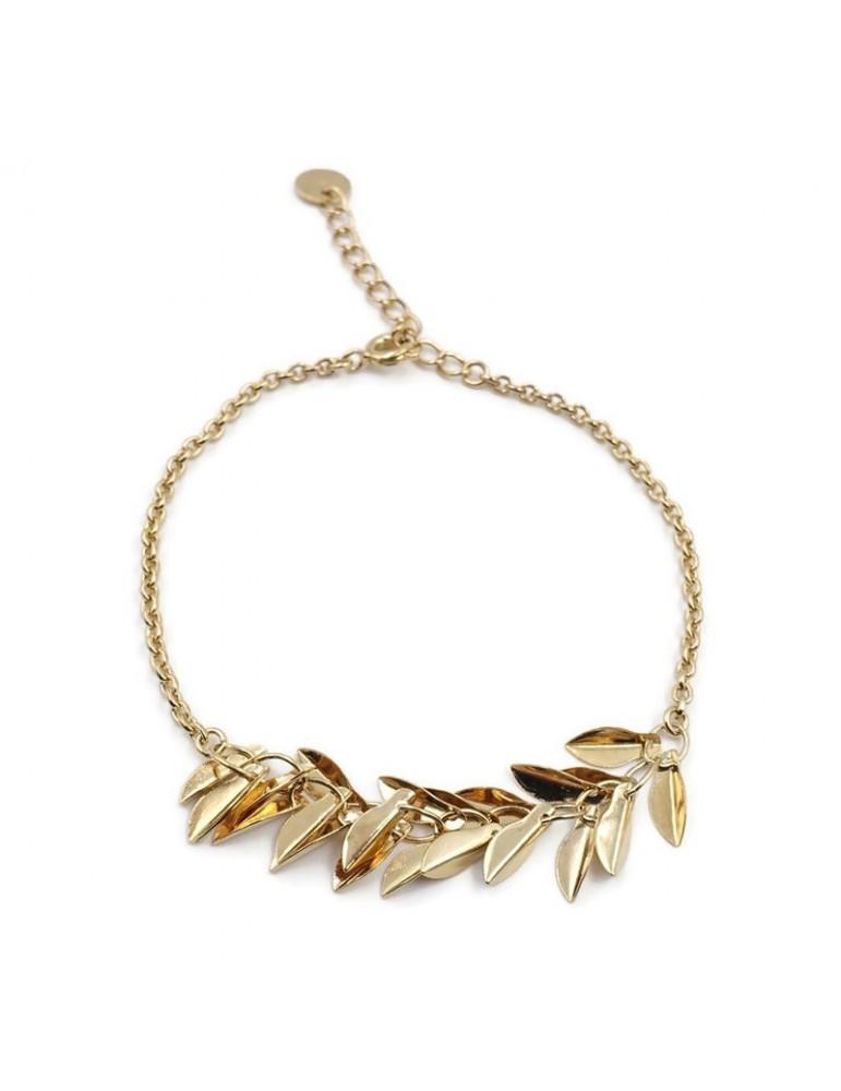 Bracelet en plaqué or - Filaé Aloe Bijoux